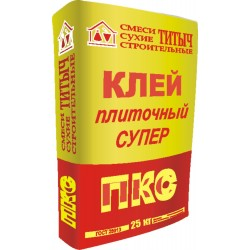 Клей плиточный ТИТЫЧ - ПКС супер, 25кг