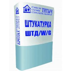 Штукатурка цементная фасадная ТИТЫЧ-ШТД/W декоративная, 25кг